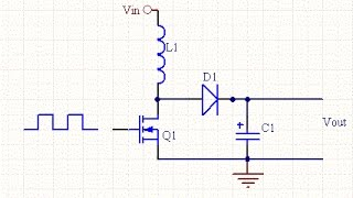 Very simple 5v to 65v DC boost converter circuit