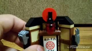 Лего Ниндзяго фильм наборы 1 Кай и Зейн