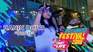 HANIN DHIYAPUPUSLIVE AT DREAMERS FESTIVAL 2018