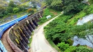 Kollam Thenmala Sengottai - Meter guage Train Trip