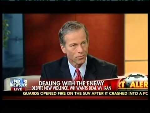 Senator John Thune Discusses Iran
