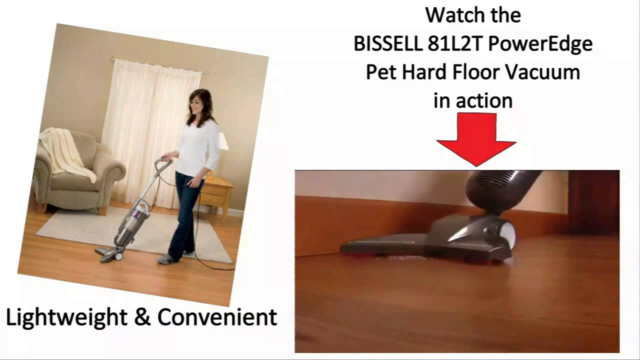 bissell 81l2t poweredge pet hard floor vacuum cleaner review - youtube
