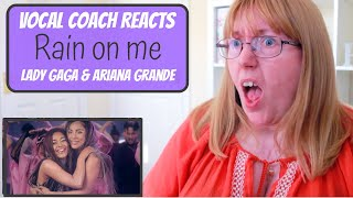 Vocal Coach Reacts to Lady GagaAriana Grande Rain on me