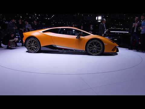 Pirelli: Geneva Motorshow 2017 - Lamborghini