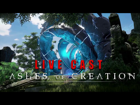 *Live Play* Ashes of Creation Kickstarter Livestream w/ DJ Tech Live 5/5/17