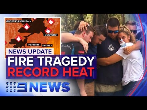 NSW Bushfire Emergency, VIC To Hit 47 Degrees | Nine News A