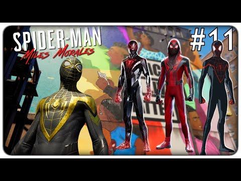 COMPLETIAMO LE MISSIONI EXTRA E SBLOCCHIAMO TANTI NUOVI COSTUMI   Spider-Man Miles Morales - ep. 11