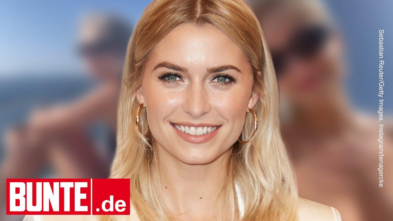 Download Lena Gercke - Bootsausflug im knappen Bikini: Sie feiert die letzten Tage des Sommers