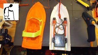 Rc Toy Boat Conversion