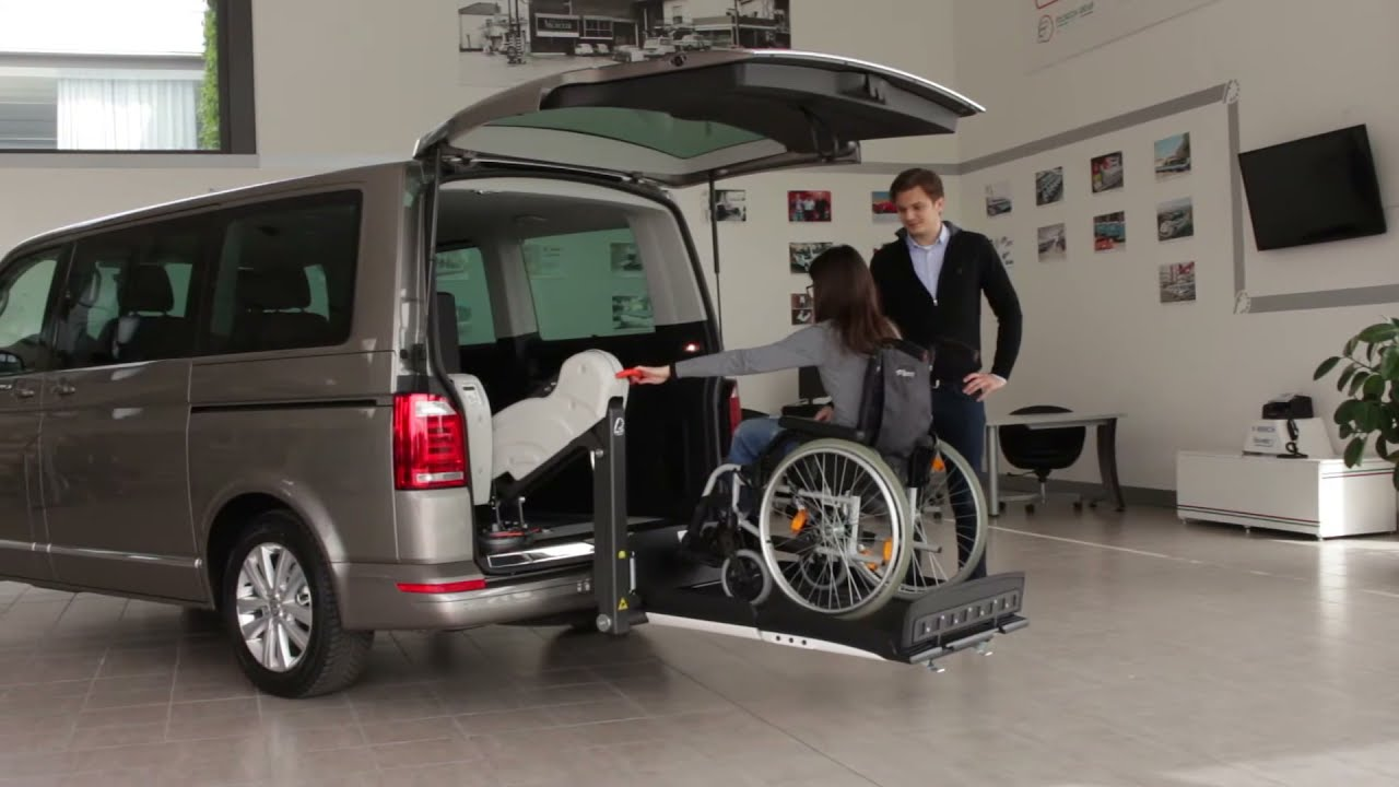 Vokswagen Multivan T6 Per Trasporto Disabili