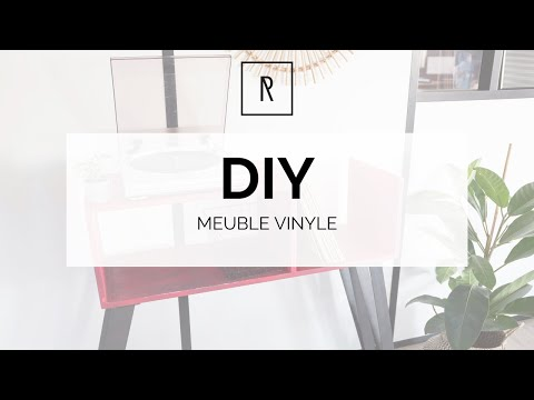 DIY Meuble Vinyle - Ripaton
