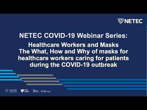 NETEC: Masks And Healthcare Workers