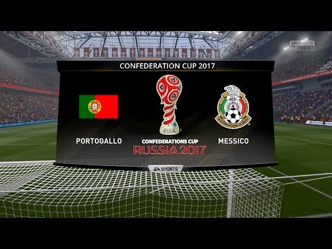 PORTUGAL VS MEXICO CONFEDERATIONS CUP 2017 - 18/06/2017 |FIFA 17 Predicts by Pirelli7