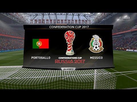 PORTUGAL VS MEXICO CONFEDERATIONS CUP 2017 - 18/06/2017 |FIFA 17 Predicts by Pirelli7