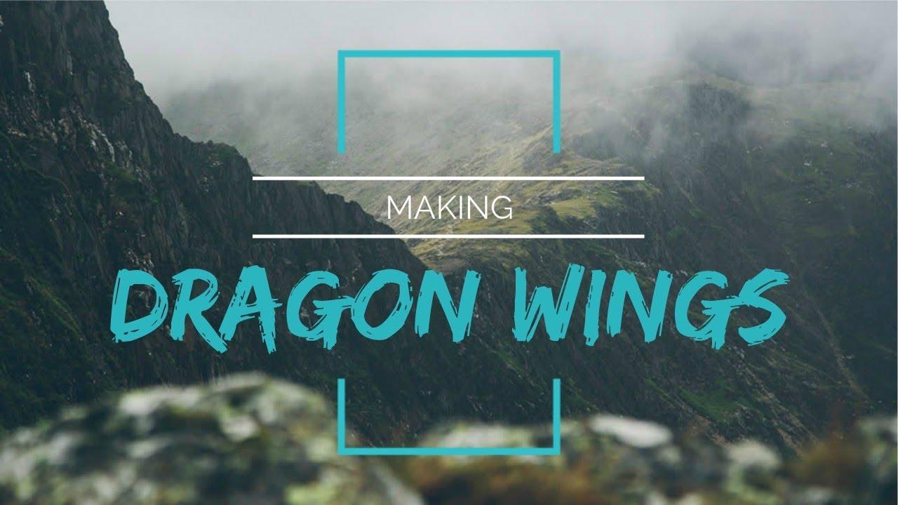 Making Dragon Wings - YouTube