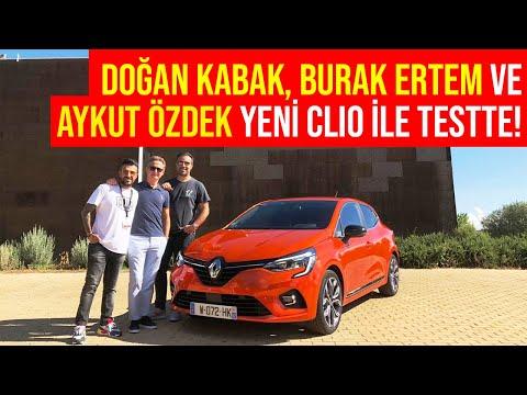Doğan Kabak, Burak Ertem Ve Aykut Özdek Ile Yeni Renault CLIO | Lansman