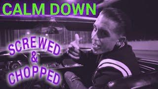 Скачать G Eazy Calm Down Slowed Down Chopped Up By Dj Slowjah