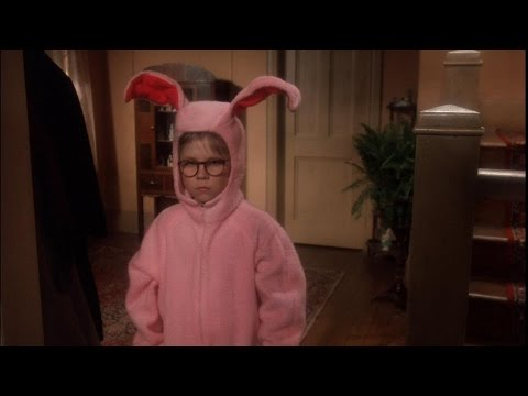 bunny pajamas a christmas story youtube