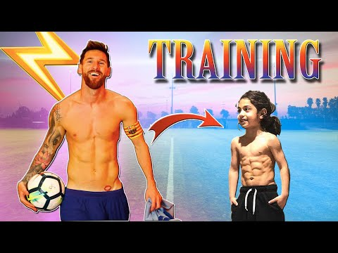 THE NEXT MESSI?? - Arat Hosseini (Age 6) Training and Skills