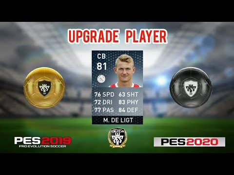 PES 2020 GOLD BALL TO BLACK BALL PLAYER UPGRADES – Lamayors Cup