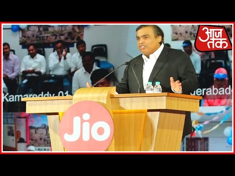 Reliance Jio Launch | Mukesh Ambani Speaks