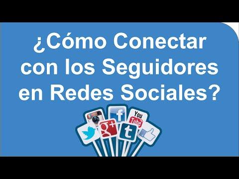 Como Conectar con los Seguidores en Redes Sociales?