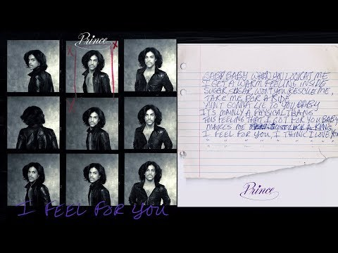 PRINCE ESTATE DROPS SURPRISE RELEASE!! I FEEL FOR YOU (ACOUSTIC DEMO)
