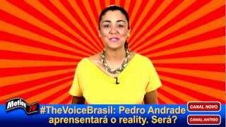 """The Voice Brasil"" ñ terá Pedro Andrade c/ aprensentador e sim Tiago Leifert"