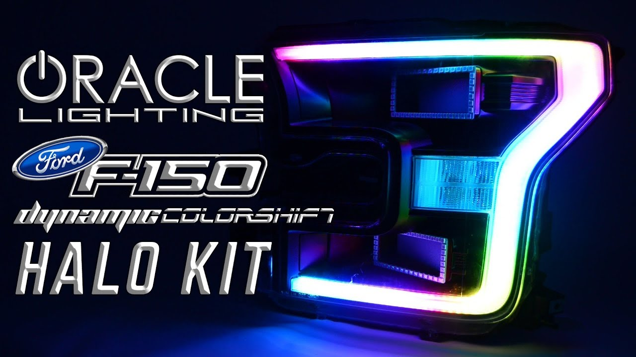 Oracle Lights Ford F 150 Dynamic Colorshift Halo Kit