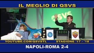 QSVS - I GOL DI NAPOLI - ROMA 2-4  - TELELOMBARDIA / TOP CALCIO 24