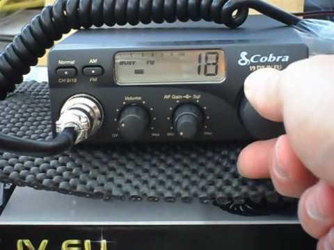 Cobra 19DX IV EU - Multi EU band CB Radio