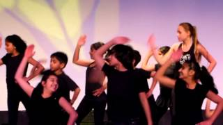 "Aneesh Jaiswal - group dance on ""Dil Hai Chota Sa"" at Shaimak Dance Factory 2012 Presentation"