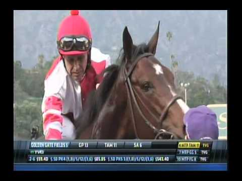 Songbird - 2016 Santa Ysabel Stakes - First Place Finish