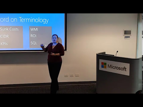 Adelaide Microsoft IT Pro July 2017 - How to Convince Your Boss To Spend Money