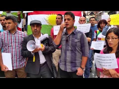 Kurdish Demo, Nottingham