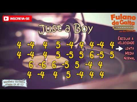 Pratique o solo de Just a Boy, de Angus & Julia Stone - Velocidade lenta - Fulano da Gaita