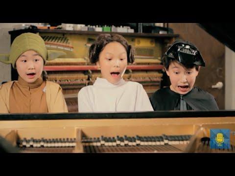 Yoda, Princess Leia & Darth Vader Sit Down at a Piano | From the Top Star Wars Mashup