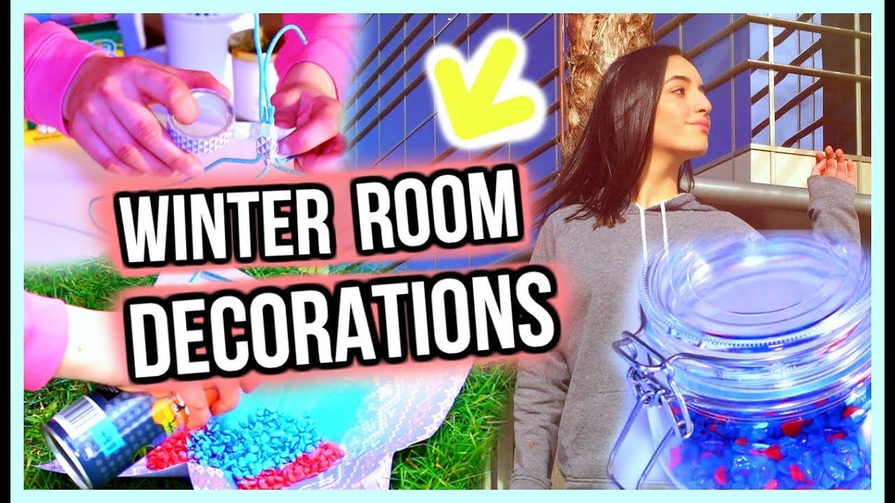 Winter Room Decor Stylememaskit Youtube