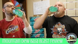 NEW Mountain Dew Baja Blast Review | First Taste Test | Two Bald Guys