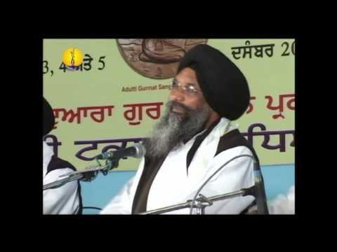 Jawaddi Taksal : Adutti Gurmat Sangeet Samellan 2010 : Raag Prabhati Bhai Avtar Singh Bank Wale