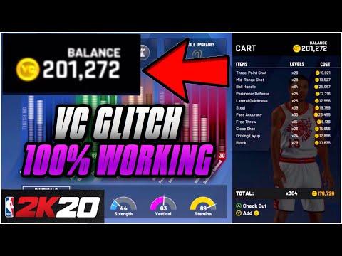 *GAME BREAKING!* *450K IN MINUTES!* 100% WORKING VC GLITCH!!! (NBA 2K20 VC  GLITCH) XBOX ONE & PS4!!!