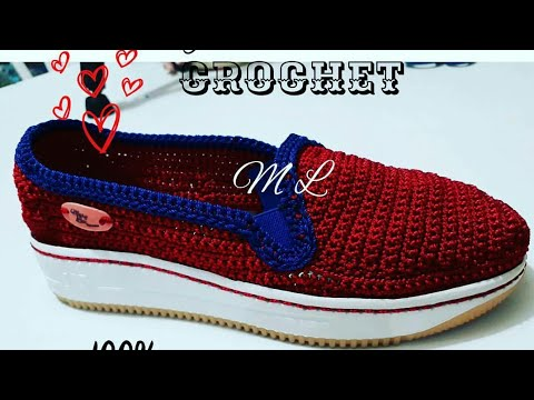 Tejidas En Crochet Vans En Crochet Vans Youtube En Tejidas Tejidas Vans Youtube 7qgwOHSxW