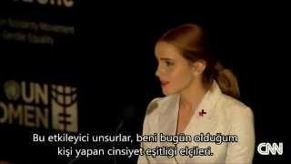 Emma Watson UN Speech (Türkçe Altyazılı)