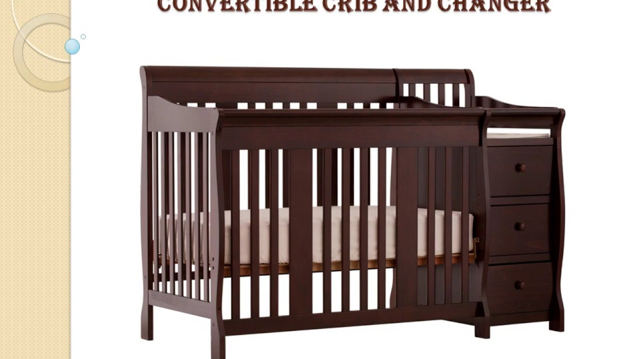 tuscany baby changer pdx kids cribs and storkcraft steveston convertible in crib