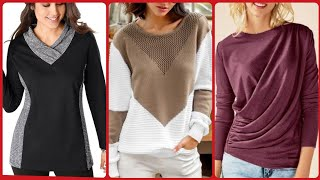Top Stunning And Beautiful Ladies Sweaters Designs