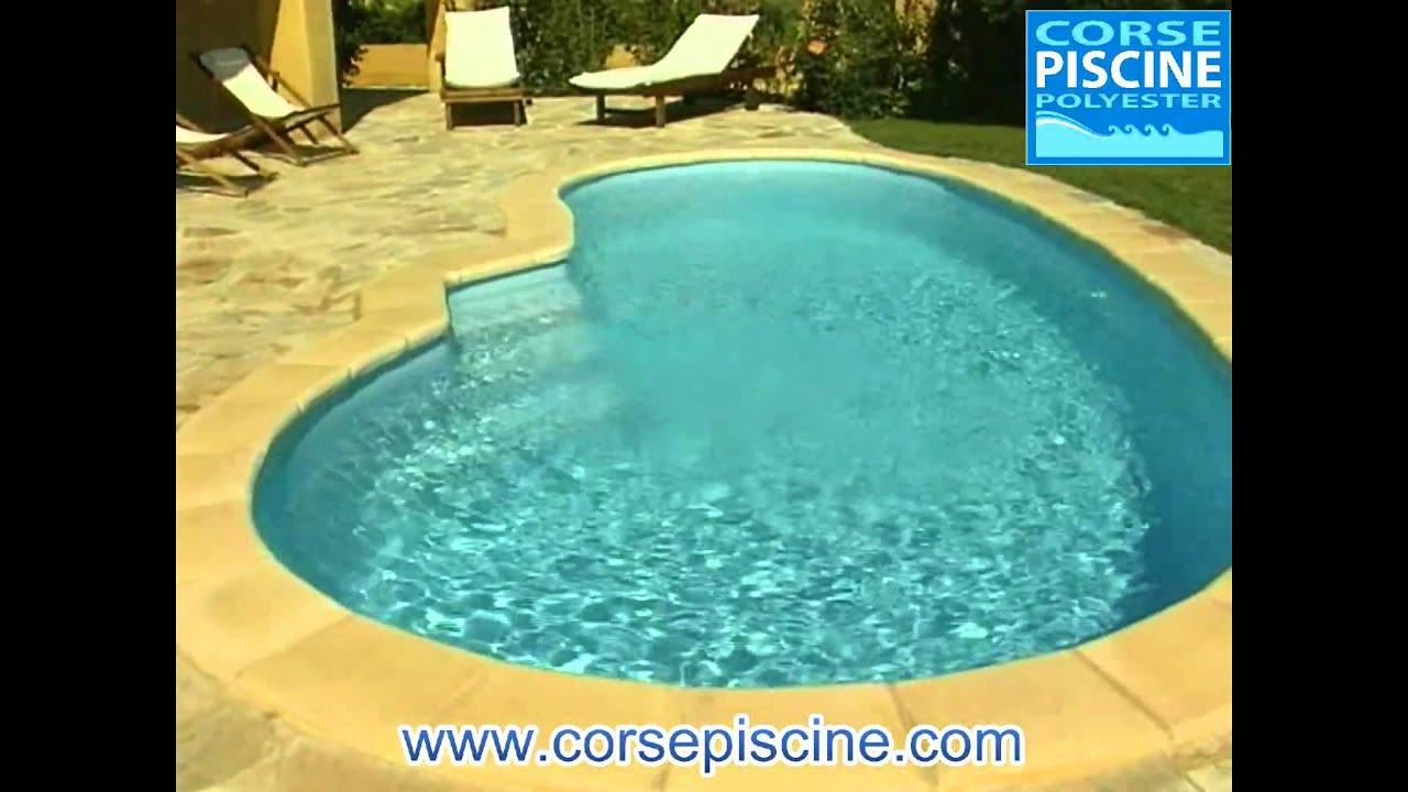 Piscine lisbonne coque polyester youtube for Piscine lisbonne
