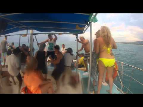 Jamaica ScubaCaribe boat party