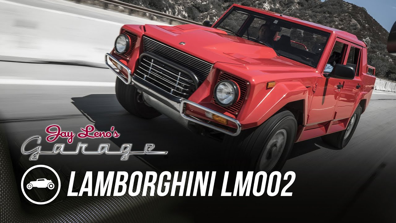 1990 Lamborghini LM002 - Jay Leno\'s Garage - YouTube