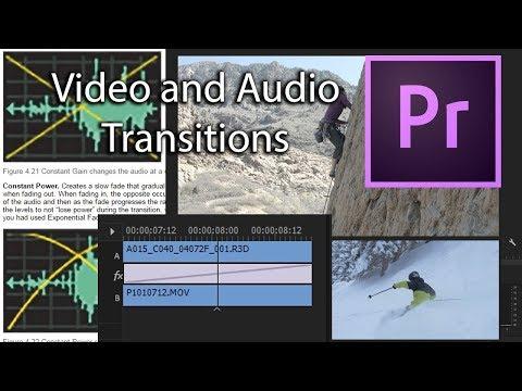 E29 - Video Transitions, Cross Dissolve, Wipe, etc. - Adobe Premiere Pro CC 2018