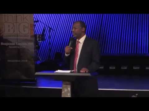Ben Carson speaks at Kalamazoo Christian Schools Event